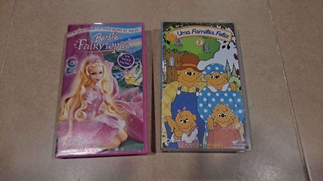 Cassetes Barbie e Família Feliz NOVAS
