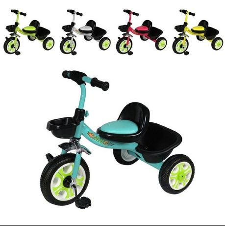 Велосипед детский трехколесный Tilly Trike T-318 Drive, 10 дюймов, EVA