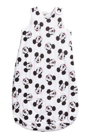 H&M śpiworek niemowlęcy Mickey 74/80