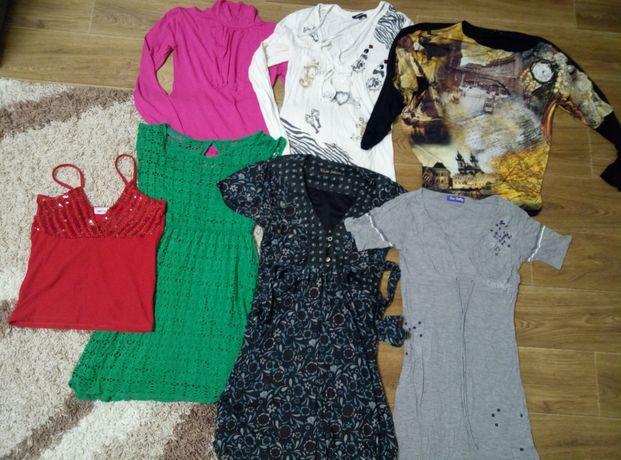 Продам пакет вещей,платье,сарафан,майка,кофта