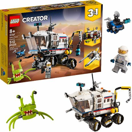 LEGO Creator Łazik kosmiczny 3w1 31107