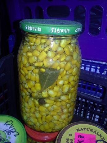 Kukurydza domowa w zalewie octowej (~30szt.)