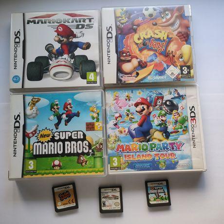 Jogos para Nintendo DS e Ds (super Mario, crash, rhythm paradise)