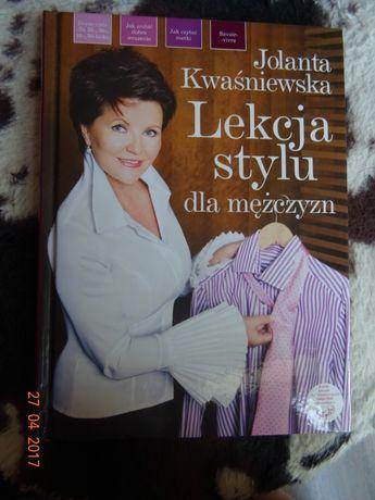 Lekcja stylu dla mężczyzn. Jolanta Kwaśniewska