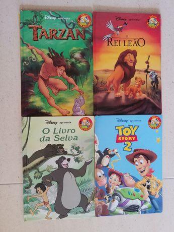 Walt Disney - 9 livros capa dura - década 2000