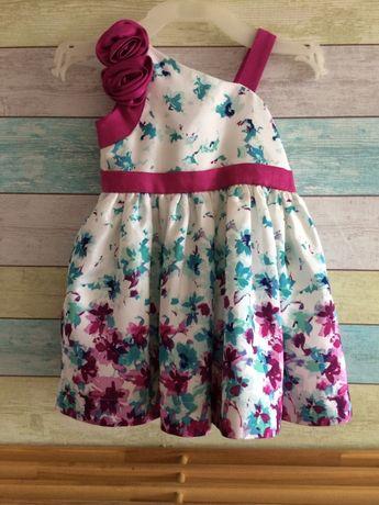 Платье нарядное с трусиками фирмы Gymboree 12-18м.