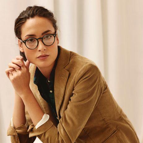 Oprawki Ralph Lauren wzór- okulary korekcyjne- niebieski- granat