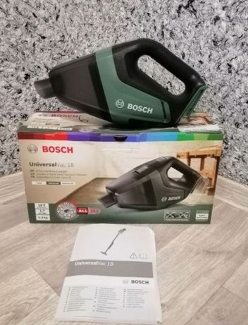 Аккумуляторный универсальный пылесос Bosch UniversalVac 18 (SOLO)