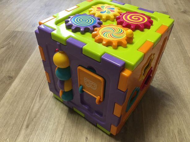 Кубик сортер развивающий