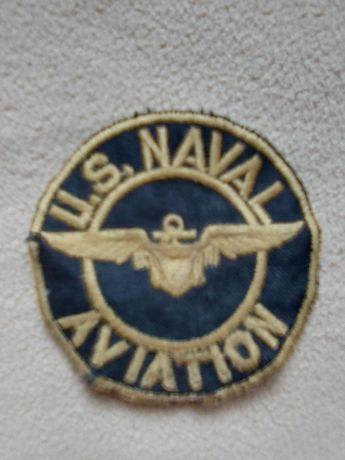 Amerykańska naszywka na ubranie US Naval Aviation
