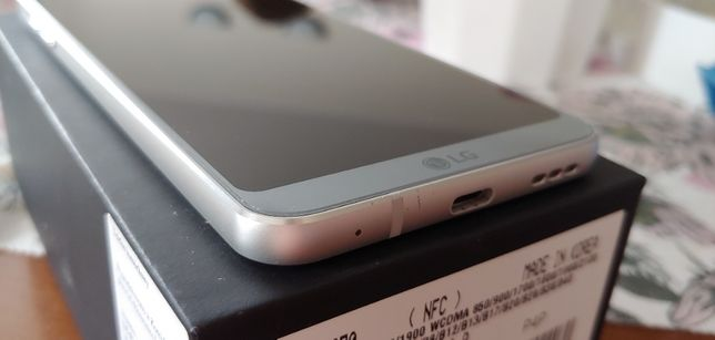 LG G6 H870 4GB RAM 32GB ROM Platinum Używany Komplet Gwarancja