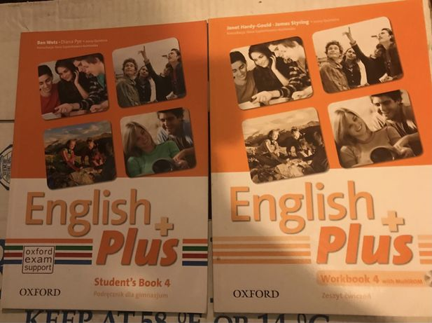 English Plus 4 Oxford Student's Book + Workbook NOWY