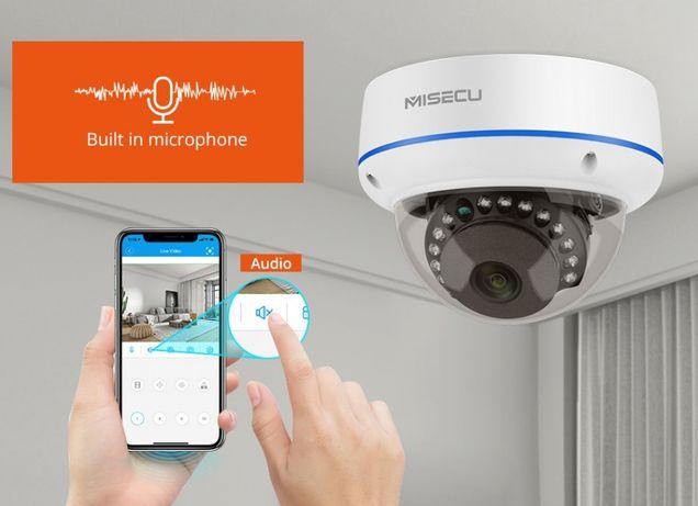 Câmera IP Vídeo Vigilância Dome Exterior * 1080P * Visão Noturna IP67