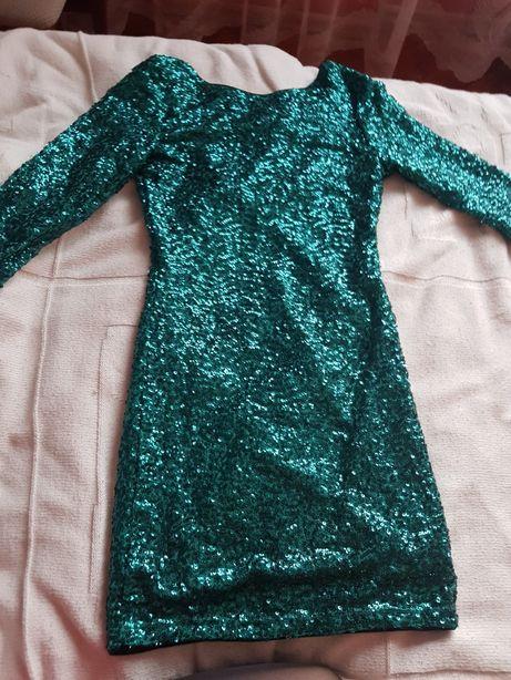 Sukienka cekinowa, H&M
