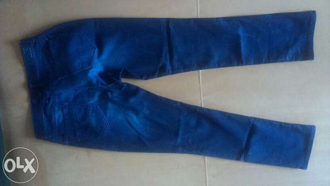 джинсы новые realist Турция размер 34 темно-синие штаны брюки