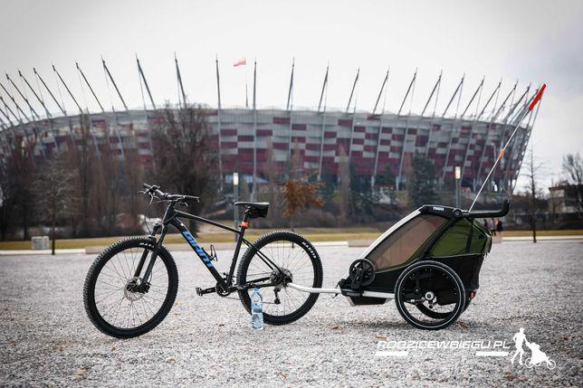 od ręki... THULE Chariot Cab 2 przyczepka rowerowa biegowa