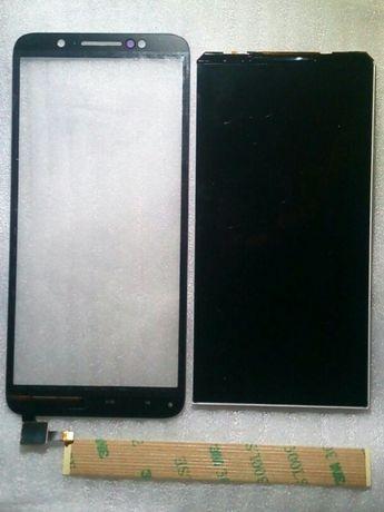 Wyświetlacz LCD + digitizer Alcatel 1C 5009 / Alcatel 1X 5059