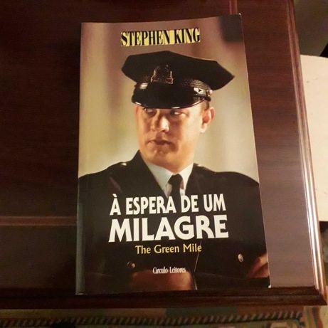 Stephen King - À Espera de um Milagre   USADO em bom estado
