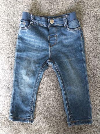 Jeansy Slim Fit r.80 H&M