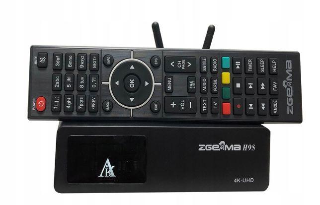 Продам спутниковый ресивер ZGEMMA H9S wifi DVB-S2X Multistream 4K UH