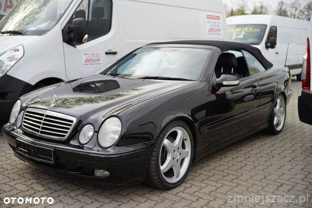 Mercedes-Benz CLK AMG Designo Piękny Bezwypadkowy Serwisowany Kolekcjonerski