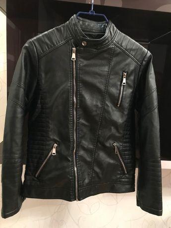 Черная куртка из искусственной кожи для подростка BRUM BEBY, Китай
