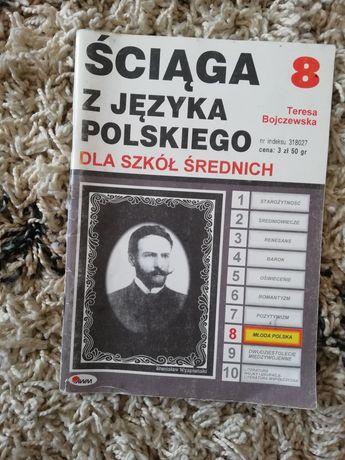 Ściąga z  języka polskiego okres młoda polska