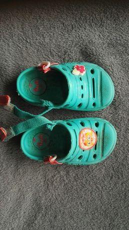 Sandały piankowe beppi, crocsy, buty do wody, rozmiar 20