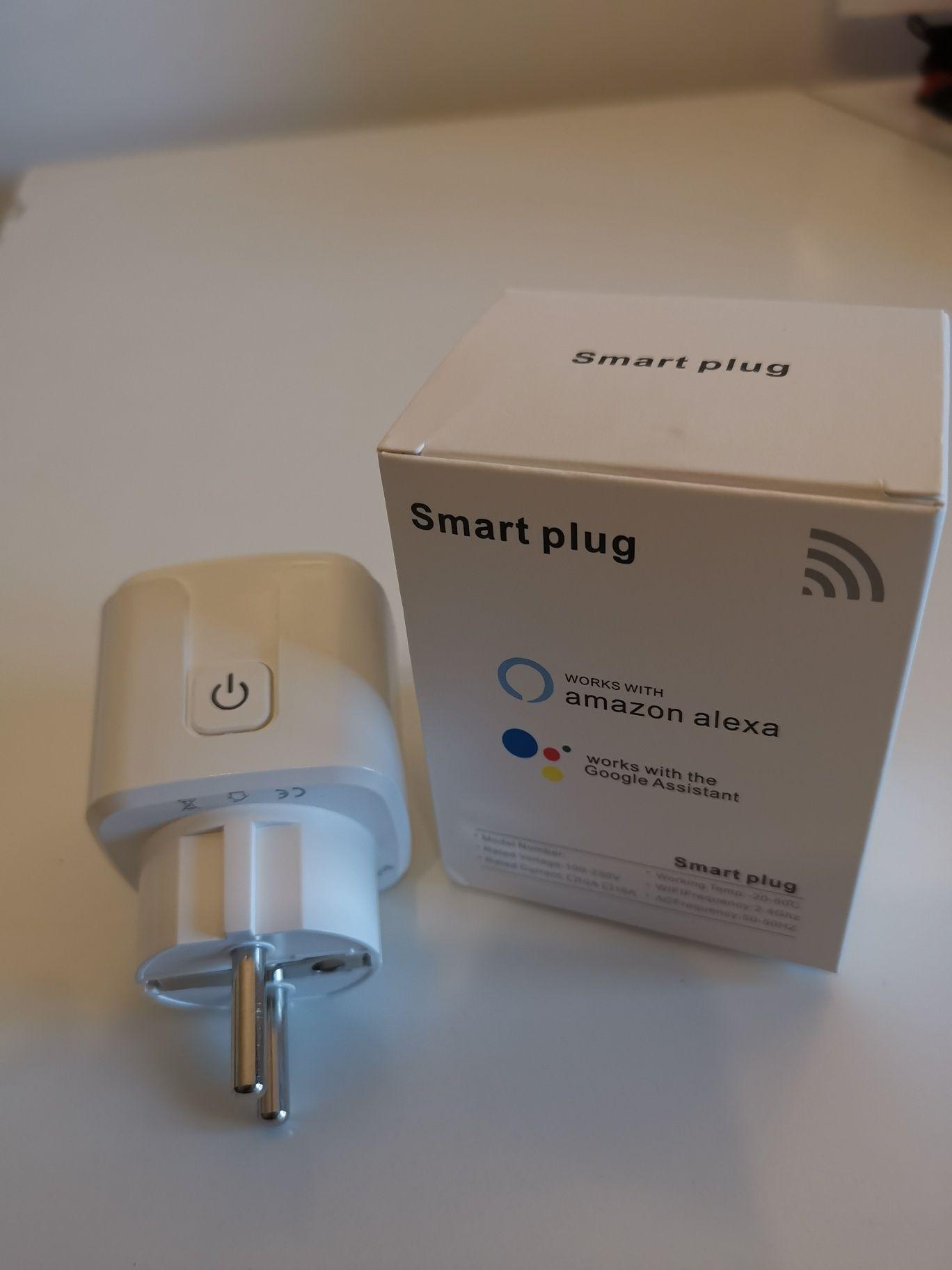 Tomada inteligente wifi, Amazon Alexa Google assistant