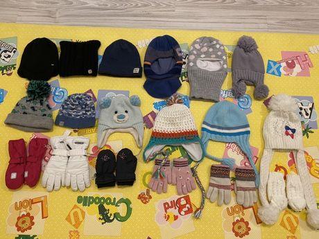 Шапки и перчатки для детей
