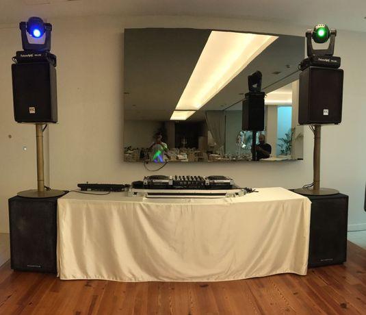 Aluguer de Material DJ (Som e Luz)