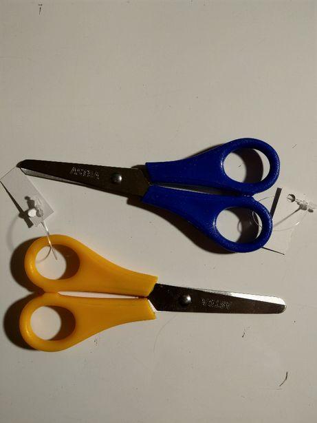 Nożyczki szkolne z linijką dla leworęcznych firmy ASTRA
