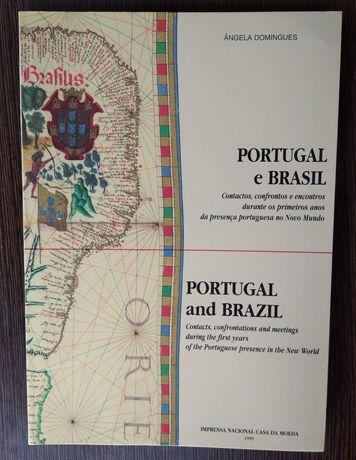 Livro Numismática: Portugal e Brasil / Portugal and Brazil