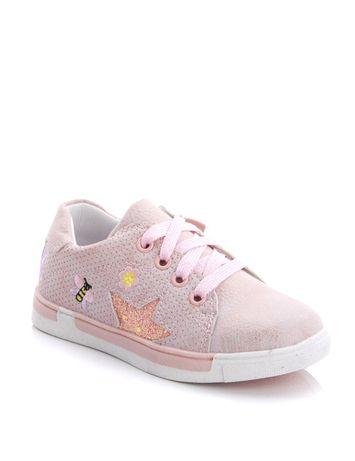 Ytop кеды для девочки розовые 28 размер