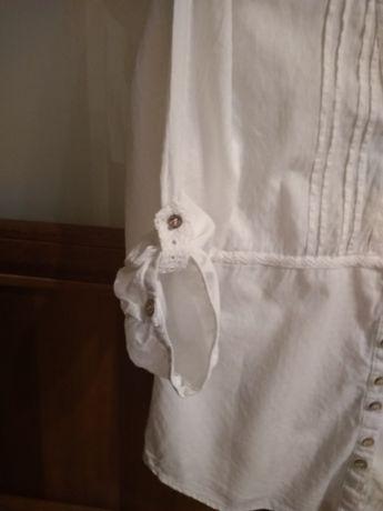 Biała koszula bawełniana-roz.S