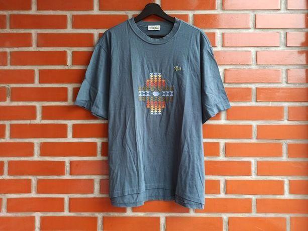 Lacoste Vintage винтажная мужская футболка размер L