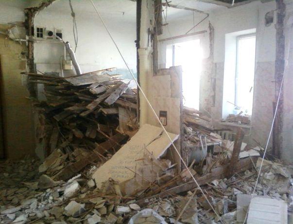 Демонтаж об'єктів і підготовка квартир до ремонту.