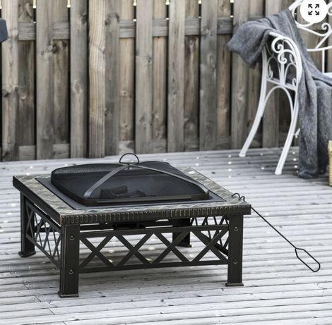 Aquecedor de exterior/ churrasqueira