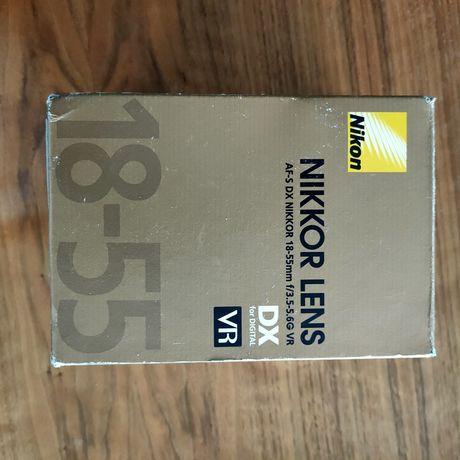 Obiektyw Nikkor 18-55 VR