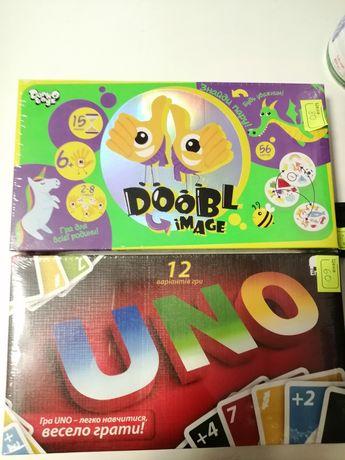 Настольная игра Уно Дабл