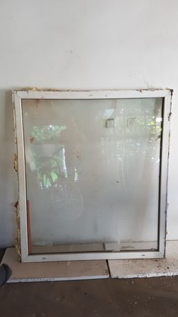Okno plastikowe 140x157cm z demontażu, nie otwierane