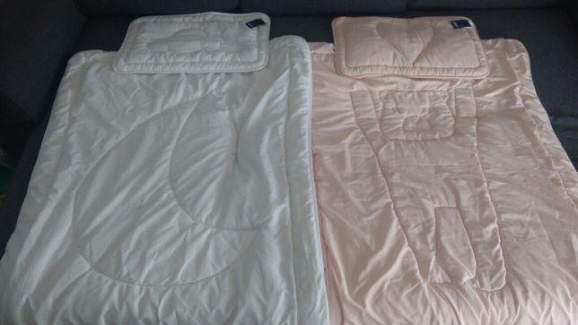 Kołdry, poduszki dla dzieci + klin GRATIS