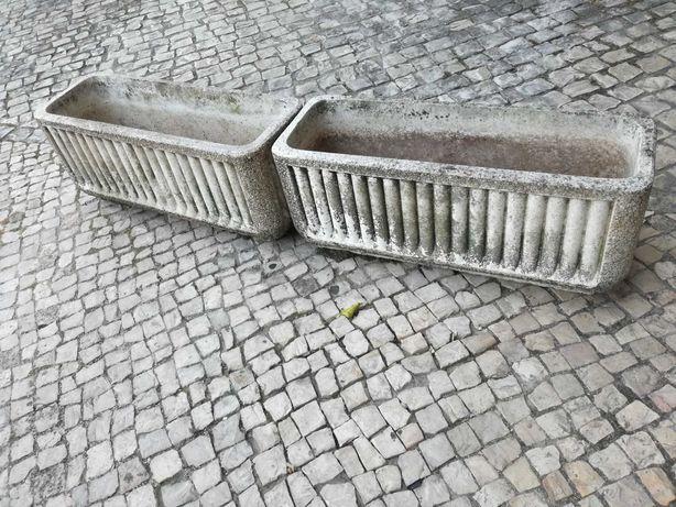 VASOS rectangular em Cimento