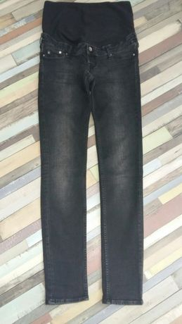 Spodnie jeansowe ciążowe rozmiar 40 spodnie dresowe oraz koszulka