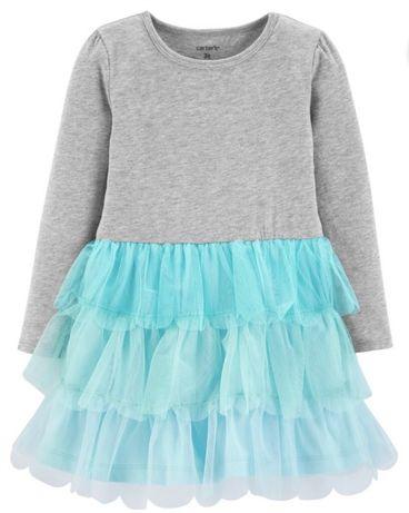 Платье с пышной юбкой Carters Картерс на девочку
