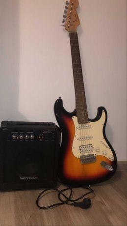 gitara elektryczna ewer pley i piec voicekraft
