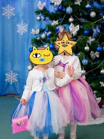 Нарядное платье для маленькой принцессы 3-4 года