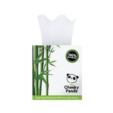 Bambusowe chusteczki do twarzy, uniwersalne, 56 szt