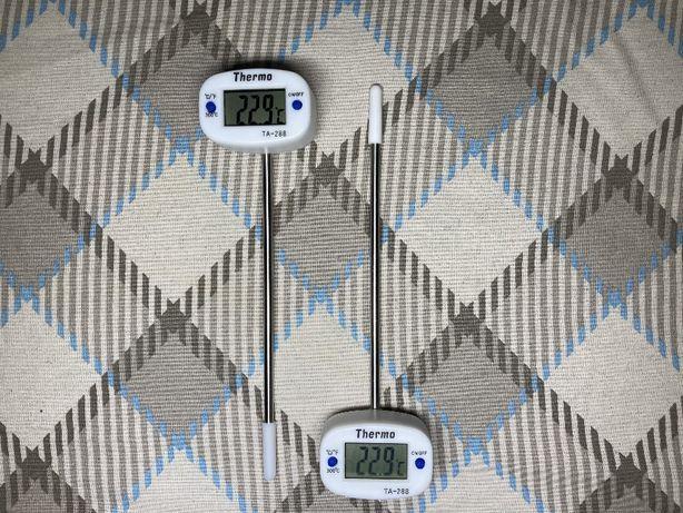 Цифровой кулинарный градусник-термометр с поворотной на 180 головкой
