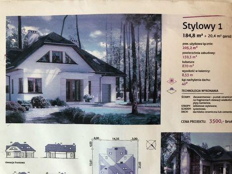 Sprzedam projekt domu STYLOWY 1